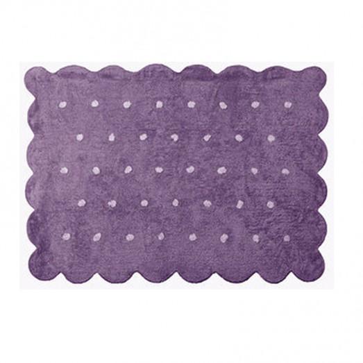 Tapis Biscuit - Violet Lilas