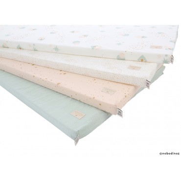 Matelas Saint Barth - White bubble / Aqua
