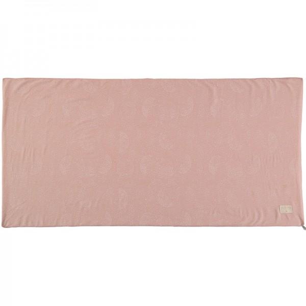 Matelas Saint Barth - White bubble / Misty pink