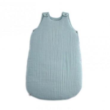 Gigoteuse en coton bio - Bleu clair
