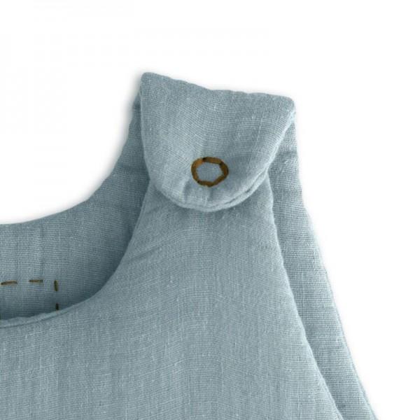 Gigoteuse en coton bio - Bleu canard