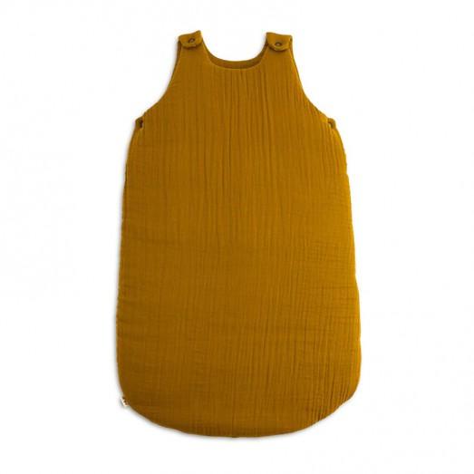 Gigoteuse en coton bio - Moutarde