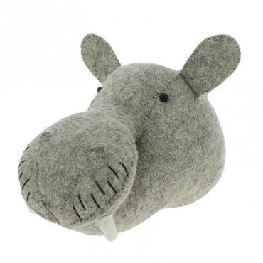 Trophée mini - Hippopotame
