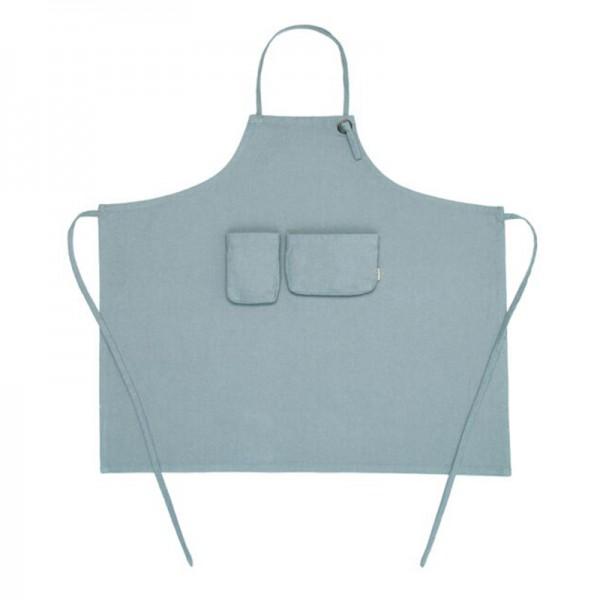 Tablier enfant en coton bio - Bleu clair