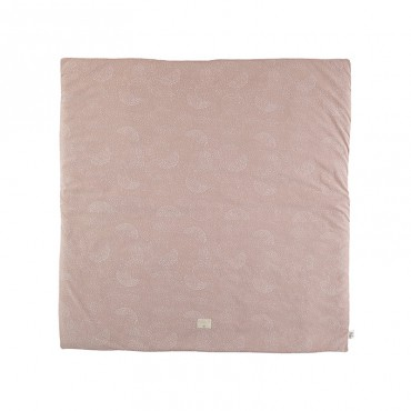 Tapis carré Colorado 100 x 100 cm - White Bubble/Misty Pink