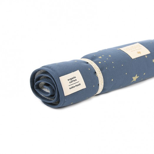 Matelas à langer transportable Nomad - Gold Stella Night Blue