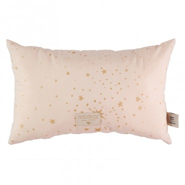 Coussin Laurel Nobodinoz - Gold Stella Dream Pink