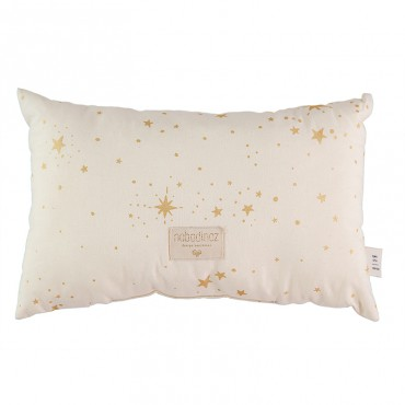 Coussin Laurel Nobodinoz - Gold Stella Naturel
