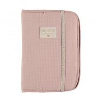Protège carnet de santé Poema - Misty pink