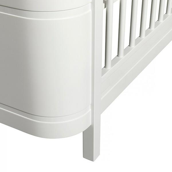 Lit évolutif Wood Mini + - Blanc