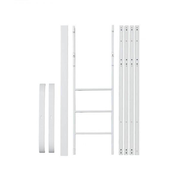 Kit de conversion lit mezzanine Mini + Wood - Blanc