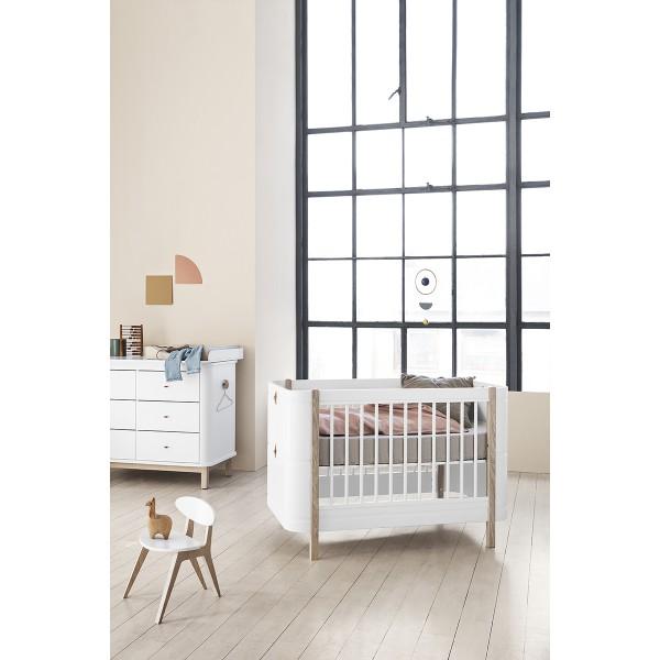 Matelas Wood lit bébé mini +, 68 x 122 cm