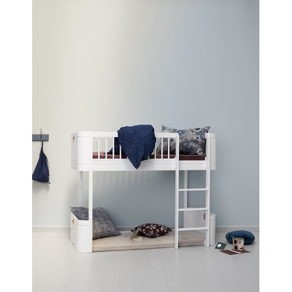 Matelas Wood lit évolutif/mezzanine Mini +, 68 x 162 cm