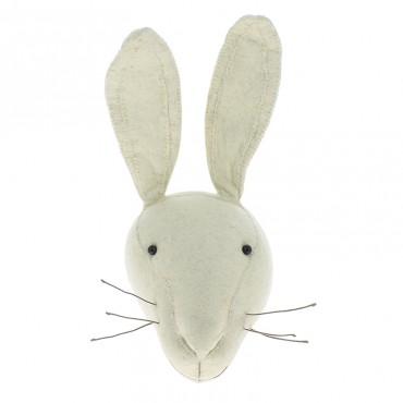 Trophée mini - Lapin blanc