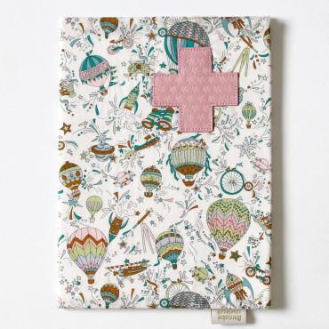 Protège carnet de santé Liberty - Solveig