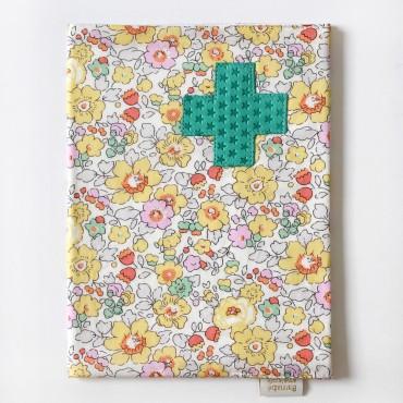Protège carnet de santé Liberty - Suzie