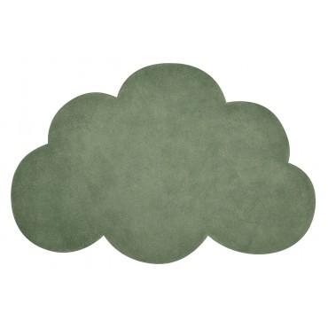 Tapis tufté nuage - Vert kale