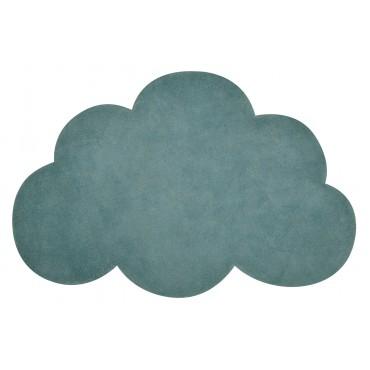 Tapis tufté nuage - Vert jungle