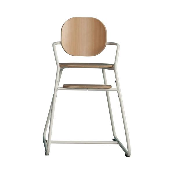 Chaise haute évolutive TIBU - Blanc