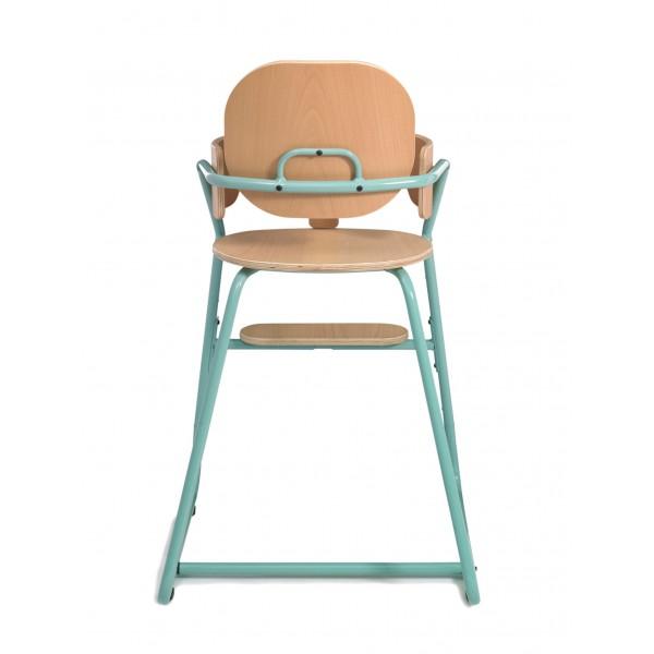 Chaise haute évolutive TIBU - Bleu vert