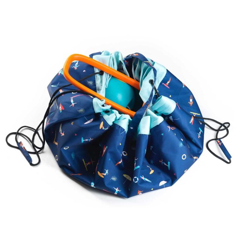 tapis de jeu et sac de rangement outdoor surf le pestacle de ma lou. Black Bedroom Furniture Sets. Home Design Ideas