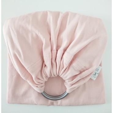 Porte-bébé 1 bandeau - Rose tendre
