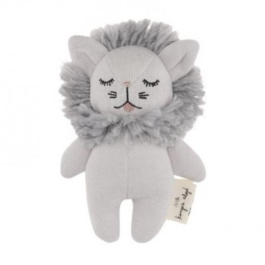 Hochet mini peluche - Lion