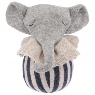 Hochet culbuto - Eléphant