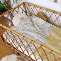 Couverture bébé en Liberty - Charlie