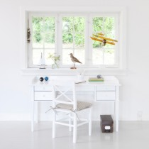 Bureau Office table Seaside, Blanc
