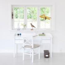 Bureau Office table Seaside, Blanc