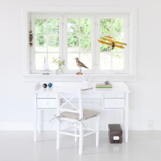 Bureau junior Office table, Blanc