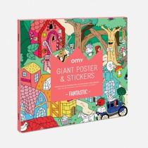 Poster géant et stickers - Fantastic