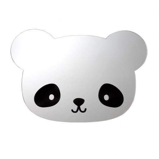 Miroir visage - Panda