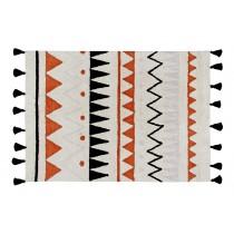 Tapis Azteca Natural - Terre cuite 120 X 160 cm