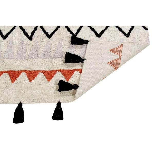 Tapis Azteca Natural - Terre cuite