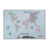 Tapis lavable Vintage map - 140x200 cm