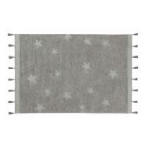 Tapis Hippy Stars 120 x 175 cm - Gris