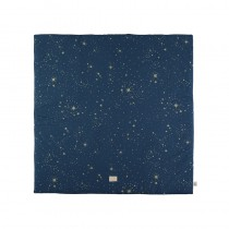Tapis carré Colorado 100 x 100 cm - Gold Stella/Night Blue