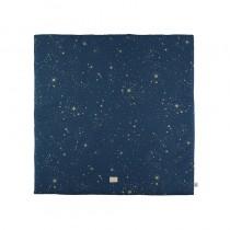 Tapis carré Colorado 100 x 100 cm - Gold Stella/Night Blue