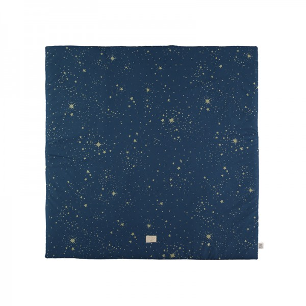 Tapis carré Colorado 100 x 100 cm - Gold Stella /Night Blue