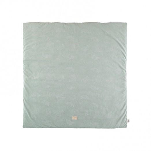 Tapis carré Colorado 100 x 100 cm - White Bubble/Aqua