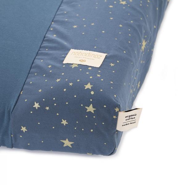 Housse de matelas à langer Calma - Gold Stella/Night Blue