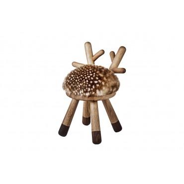 Tabouret en bois enfant - Bambi