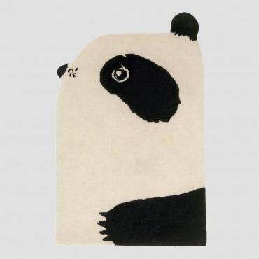 Tapis tufté laine - Panda