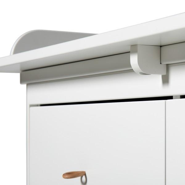 Plan à langer pour commode 6T Wood - Grand modèle