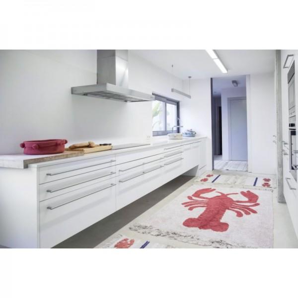 Tapis lavable Homard - 140x200 cm