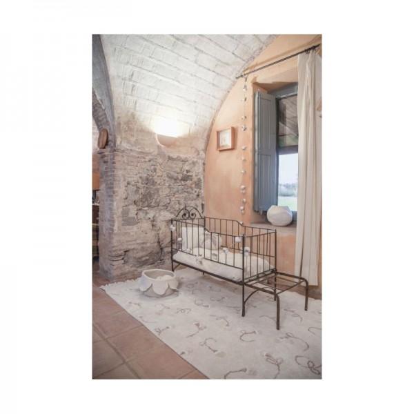 Tapis lavable English garden - 140x200 cm