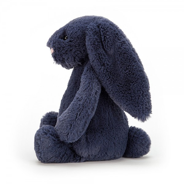 Peluche lapin Bashful - Bleu navy