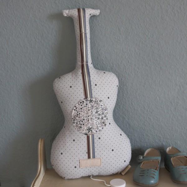 Guitare boite à musique - Y'a de la joie